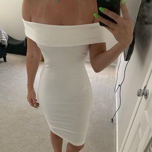 NWT FASHION NOVA WHITE DRESS